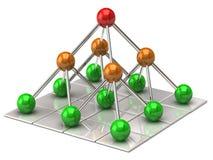 Structure de réseau Photos stock