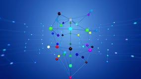 Structure de réseau banque de vidéos