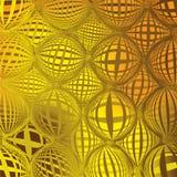 Structure de réseau dans des couleurs jaunes et brunes Image stock