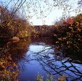 Structure de rivière de rhum - Minnesota Photos stock
