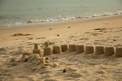 Structure de sable Photos libres de droits