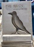 Structure de sable Raven Photo libre de droits