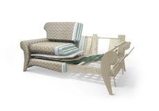 Structure de sofa Illustration de Vecteur