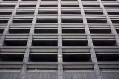 Structure de stationnement Images stock