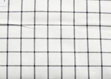 Structure de texture de tissu pour l'industrie de vêtement Photographie stock libre de droits