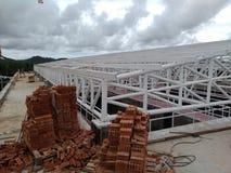 Structure de toit image libre de droits