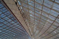 Structure de toit d'aéroport photos stock
