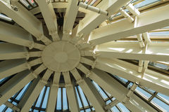 Structure de toit de dôme en métal Photo libre de droits