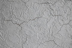 Structure of decorative plaster Stock Image