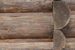Structure des rondins construction des rondins photographie stock libre de droits