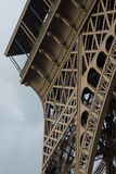 Structure of the Eiffel Tower Royalty Free Stock Photos