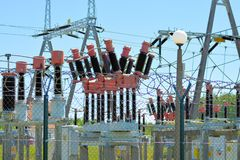 Structure, Electrical Supply, Electricity, Overhead Power Line royalty free stock image