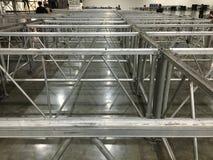 Structure en aluminium Photographie stock libre de droits