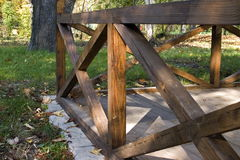 Structure en bois Photo stock