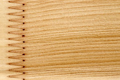 Structure en bois Photographie stock libre de droits