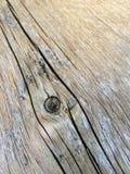 Structure en bois avec le grain en bois Images libres de droits
