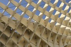 Structure en bois de détail Image stock