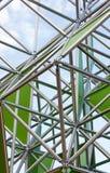 Structure en métal Photographie stock