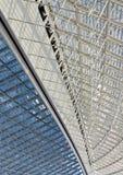 Structure en verre Photo libre de droits