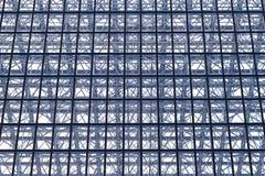 Structure en verre Photographie stock