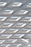 Structure et texture de construction moderne Photographie stock libre de droits