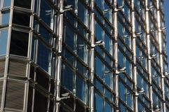 Structure extérieure de la construction d'affaires images stock