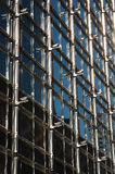 Structure extérieure de la construction d'affaires Image libre de droits