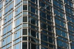 Structure extérieure de la construction d'affaires photographie stock libre de droits