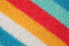 Structure of fabric close up. Royalty Free Stock Photo