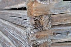 Structure faisante le coin de log photos stock