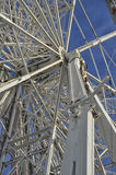 The structure of a Ferris wheel Stock Photo