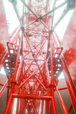 Structure of a ferris wheel Royalty Free Stock Image