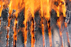 Structure Fire Background Royalty Free Stock Images