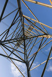 Structure of framework electricity. Structure geometric of framework electricity Stock Photography