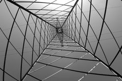 Structure geometric framework Royalty Free Stock Photo