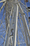 The structure of a giant wheel Stock Photography