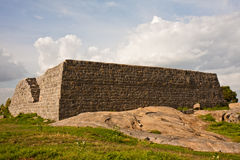Structure at Gingee Fort. One of many buildings at Gingee Fort in Tamil Nadu, India Stock Image