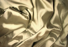 Structure of golden silk Stock Photography