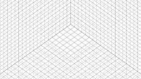 Structure Grid Animation stock illustration