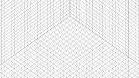Structure Grid Animation stock video
