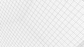 Structure Grid Animation On White Background royalty free illustration
