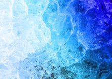 Structure of ice. Detail of ice - background, structure Stock Photo