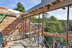 Structure for improvement under construction Royalty Free Stock Photo