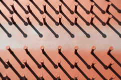 Structure with iron bars Stock Image