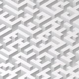 Structure isométrique Illusion optique de volume Photo libre de droits