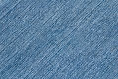 Structure of a jeans fabric Royalty Free Stock Photo
