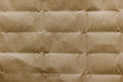 Structure of kraft brown paper Stock Photography