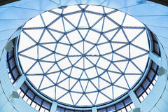 Structure of lattice of a dome Royalty Free Stock Images