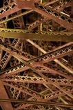 Structure métallique Photographie stock