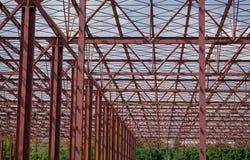 Structure métallique Photo libre de droits
